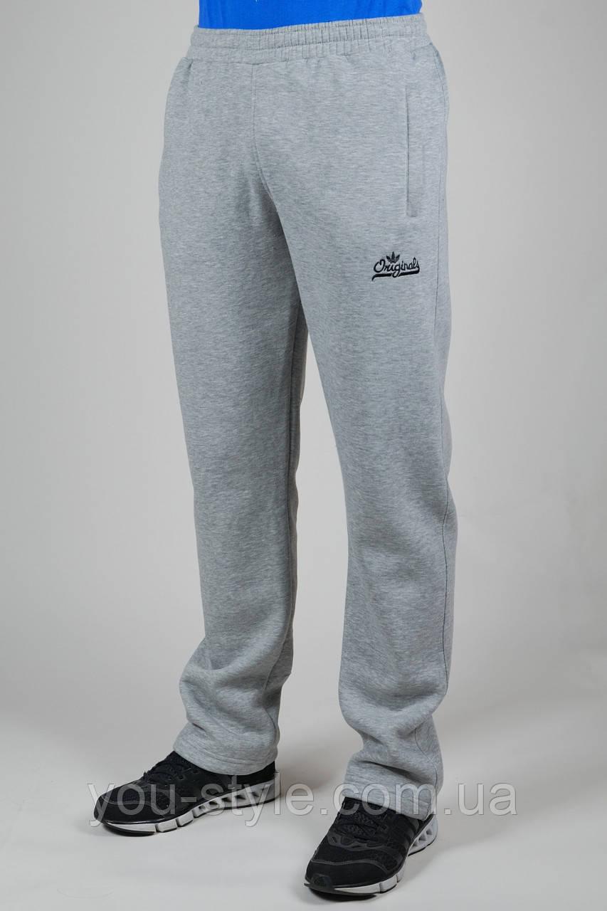 835698ae Зимние спортивные брюки мужские Adidas Originals 2780 Светло-серые - Интернет  магазин