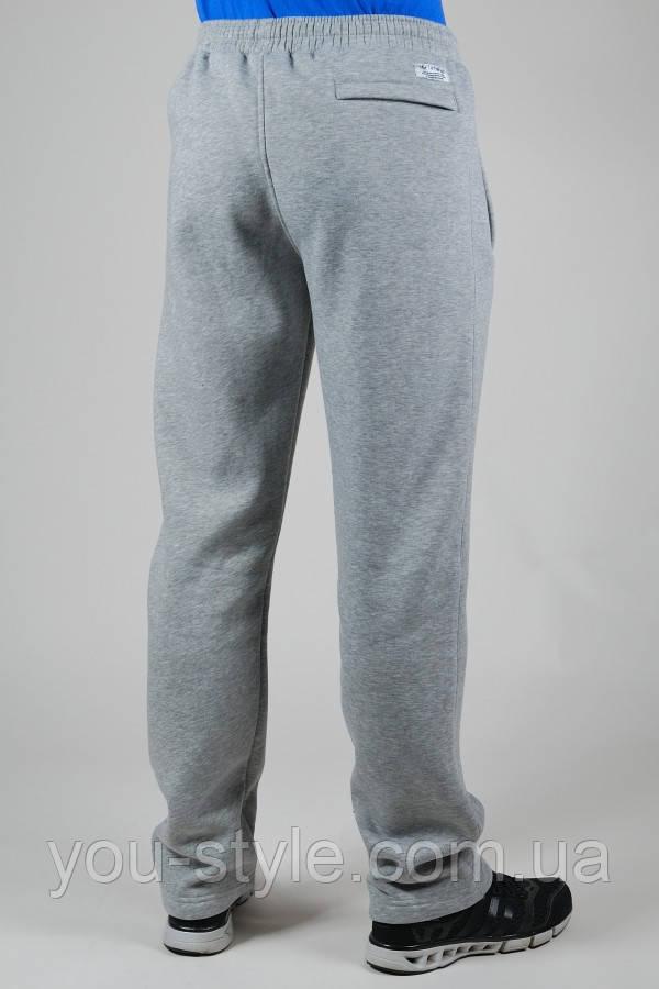 35a472e5 Зимние спортивные брюки мужские Adidas Originals 2780 Светло-серые, фото 2