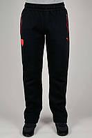 Зимние спортивные брюки мужские Puma Ferrari 3135 Чёрные
