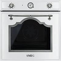 Духовой шкаф Smeg SF750BS белый + старинное серебро