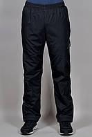 Зимние спортивные брюки на флисе Salomon 3204 Чёрные
