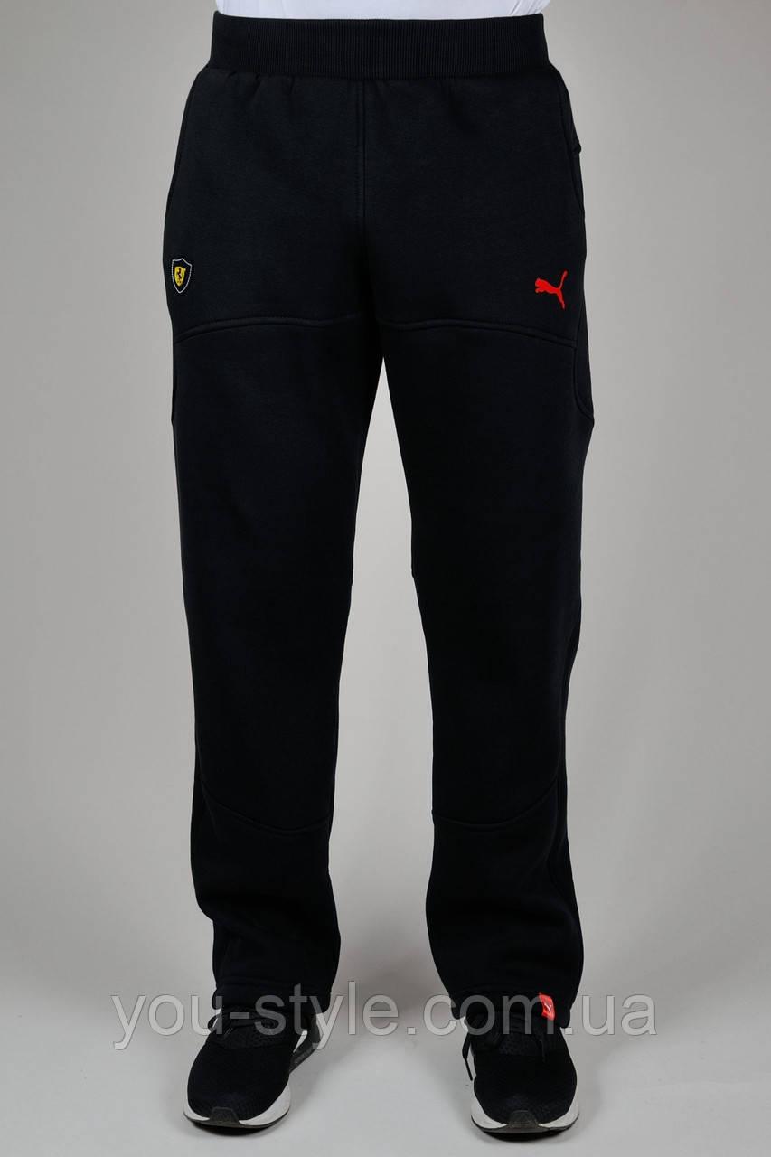 Зимние мужские спортивные брюки Puma Ferrari 3214 Чёрные