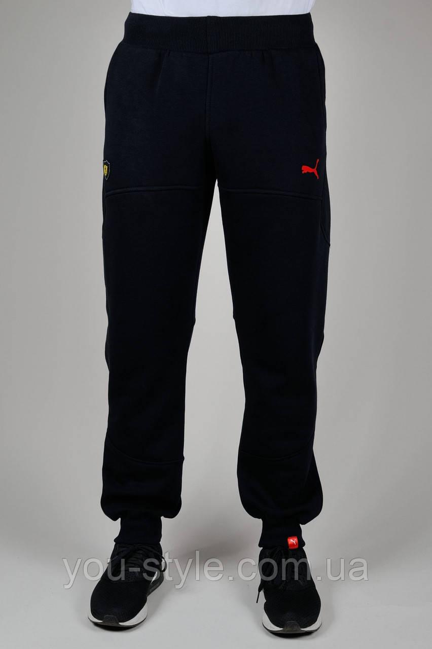 7757a4313ea8 Зимние мужские спортивные брюки Puma Ferrari 3215 Тёмно-синие ...
