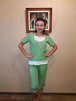 Пижама женская с бриджами  60