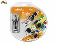 Универсальное зарядное устройство B42 для USB со сменными нсадками в автомобиль