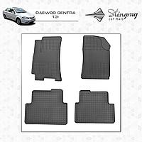 Коврики резиновые в салон Daewoo Gentra с 2013- (4шт) Stingray 1002014