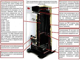 Котел газовый Данко-12 кВт, фото 3