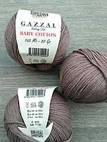 Gazzal Baby Cotton - 3434 кофе с молоком