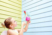 "Кукла Барби Фея Сладкие пузыри ""Дримтопия"" / Barbie Dreamtopia Bubbletastic Fairy Doll, фото 5"