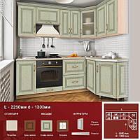 Кутова кухня L-2250 d-1300, фото 1