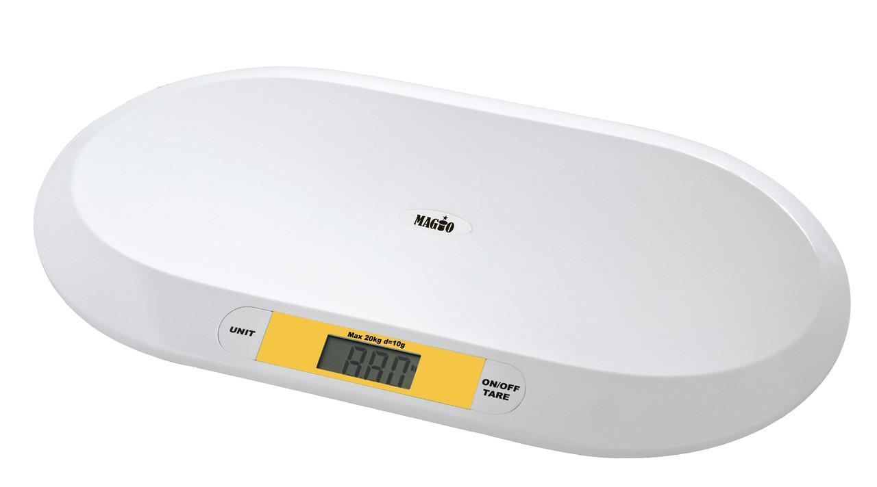 Весы детские для младенцев MAGIO MG-303 20кг/LCD диспл.