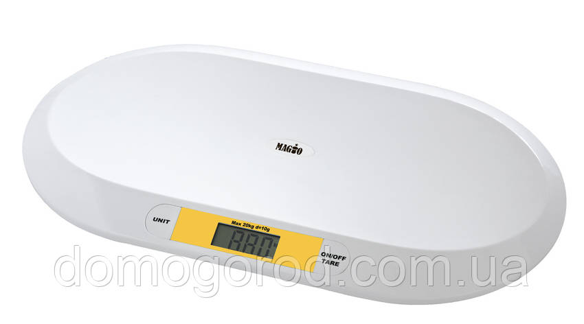 Весы детские для младенцев MAGIO MG-303 20кг/LCD диспл., фото 2