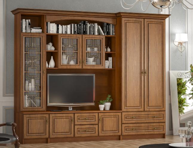 """Гостиная """"Порто"""" 2700 Мебель Сервис"""
