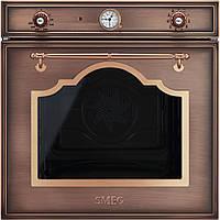 Многофункциональный духовой шкаф Smeg SF750RA медный + латунь