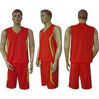 Форма баскетбол мужская Moment CO-3864-R(M) (полиэстер, р. M-46-48, красный)