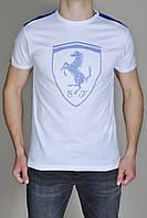 Мужская футболка Puma Ferrari Белая