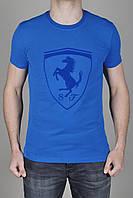 Футболка мужская Puma Ferrari Синяя