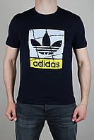 Футболка мужская Adidas Originals Темно-синяя