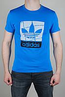 Футболка мужская Adidas Originals Голубая