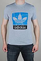 Футболка мужская Adidas Originals Светло-серая
