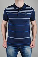 Футболка мужская Puma Ferrari Темно-синяя