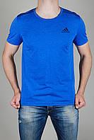 Футболка Мужская Adidas Голубая