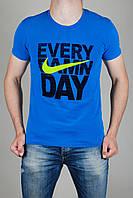 Футболка Мужская Nike Голубая