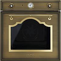Многофункциональный духовой шкаф Smeg SF750OT латунный