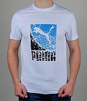 Футболка мужская Puma Белая
