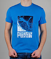 Футболка мужская Puma Голубая