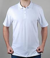 Футболка мужская Adidas батал Белая