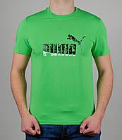 Мужская футболка Puma Салатовая