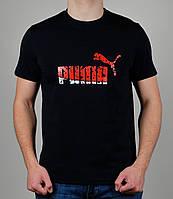 Мужская футболка Puma Тёмно-синяя