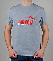 Мужская футболка Puma Серая