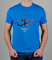 Футболка мужская Nike CR7 Голубой