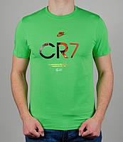 Футболка мужская Nike CR7 Салатовая