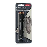 Чернографитные акварельные карандаши Sketching