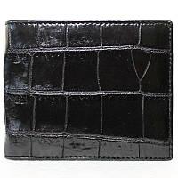 Мужской кошелёк из кожи крокодила (ALM 03 B Black), фото 1
