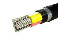 Силовой бронированный кабель АВбБШв 4х50
