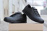 Мужские кроссовки Ecco Yak, кожаные / черные кроссовки мужские Экко Як, стильные и удобные