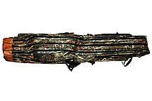 Чехол для удочек (130 см.) на 3 секции. Ранцевый.