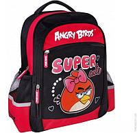"""Школьный рюкзак CFS 15"""", """"Angry Birds"""" (AB03822) с рисунком для девочки (6+)"""