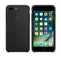 Силиконовый чехол Apple / Original iPhone 7 Plus / 8 Plus Silicone case Black (MMQR2) Черный, фото 1
