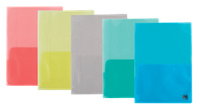 "Уголок ""Buromax"" А4 цветные 2 кармана ВМ3870-99"