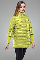 Красивая женская осенняя куртка Ирада  Nui Very (Нью вери)  по низким ценам