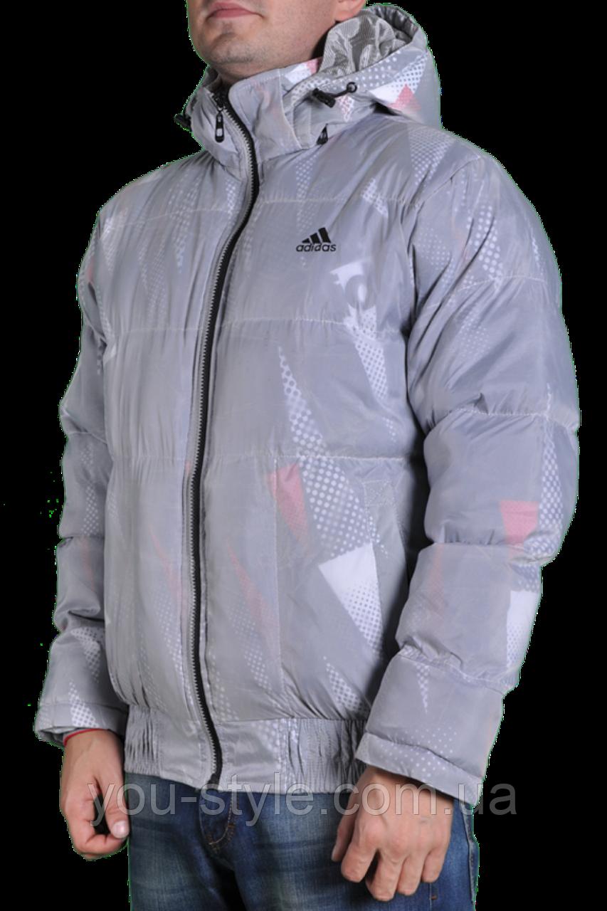 e7404011 Зимняя куртка Adidas мужская 2218 Серая: продажа, цена в Харькове ...