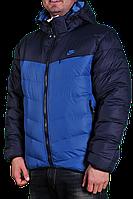 Зимняя Куртка Nike 2197 Темно-синяя