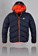 Куртка зимняя Adidas 2265 Чёрная