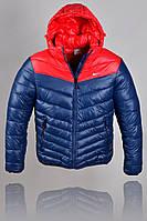 Зимняя Куртка Nike 2267 Тёмно-синий, красный