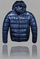Куртка мужская Nike 2651 Тёмно-синяя